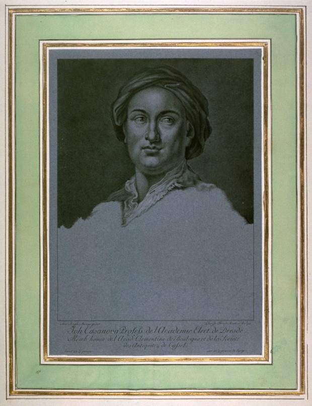 Christian Friedrich Boetius, after Anton Raphael Mengs, Johannas (Giovanni Battista) Casanova, ca 1780, Fine Arts Museum of San Francisco casanova brothers