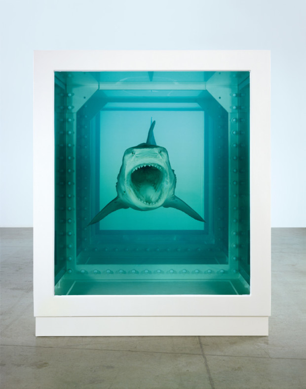 Damien Hirst Shark Damien Hirst, The Physical Impossibility of Death in the Mind of Someone Living, 1991