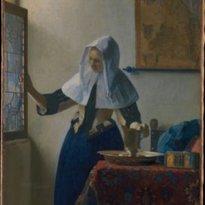 Johannes Vermeer, Young Woman with a Water Pitcher, ca. 1662, The Metropolitan Museum of Art, New York