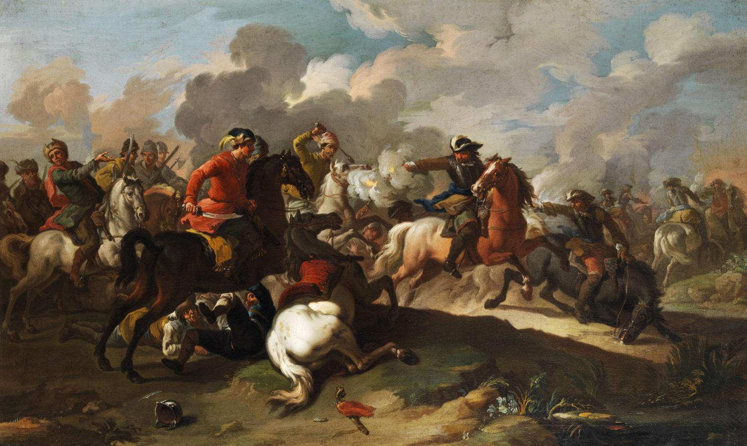 Francesco Casanova Battaglia di cavalleria casanova brothers