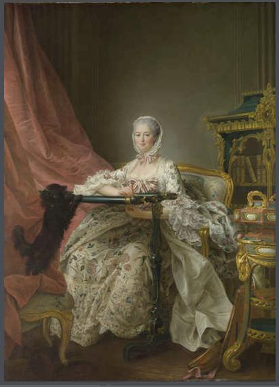 madame de pompadour portrait François-Hubert Drouais Mme de Pompadour at her Tambour Frame, 1763-64 Oil on canvas, 217 x 156.8 cm London, National Gallery, madame de pompadour portraits