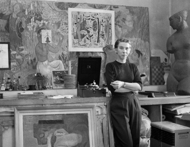 Tove Jansson in 1956