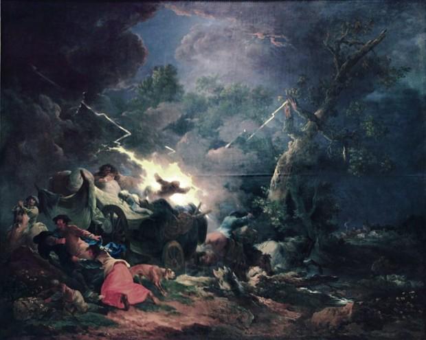 Francesco Giuseppe Casanova, The Storm,