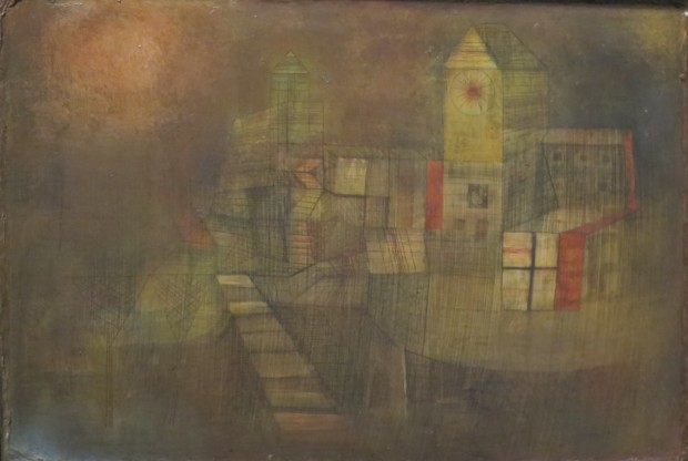 Paul Klee, Small Village in the Autumn Sun, 1925, LACMA, Los Angeles, California, Klee's Autumn