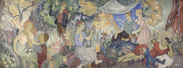 Tove Jansson, Party in the Countryside, Helsinki Art Museum
