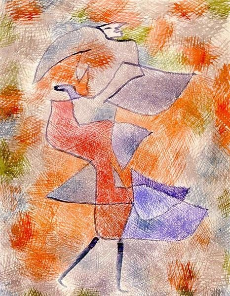 Paul Klee, Diana in the Autumn Wind, 1921, private collection, Klee's Autumn