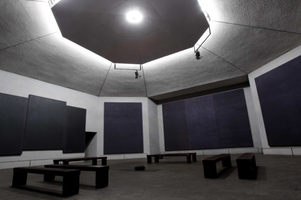 Rothko Chapel, 1409 Sul Ross, shown Tuesday, Dec. 13, 2011, in Houston had its 40 anniversary this year. ( Melissa Phillip / Houston Chronicle )