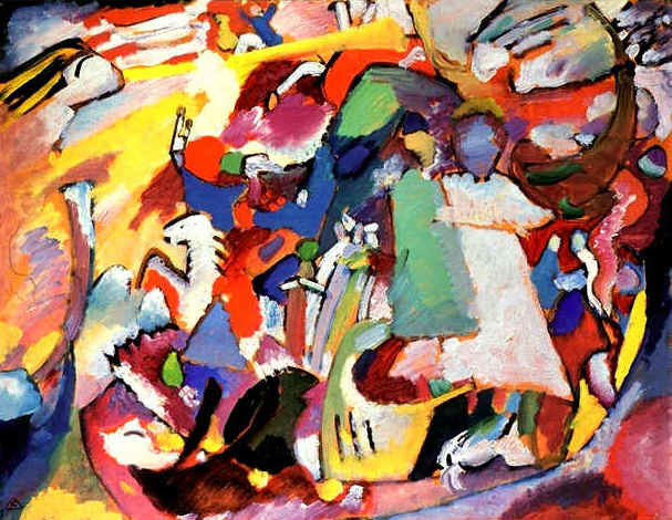 All Saints Day 1, Wassily Kandinsky, 1911, Lenbachhaus, Munich, All Saints Day in Paintings
