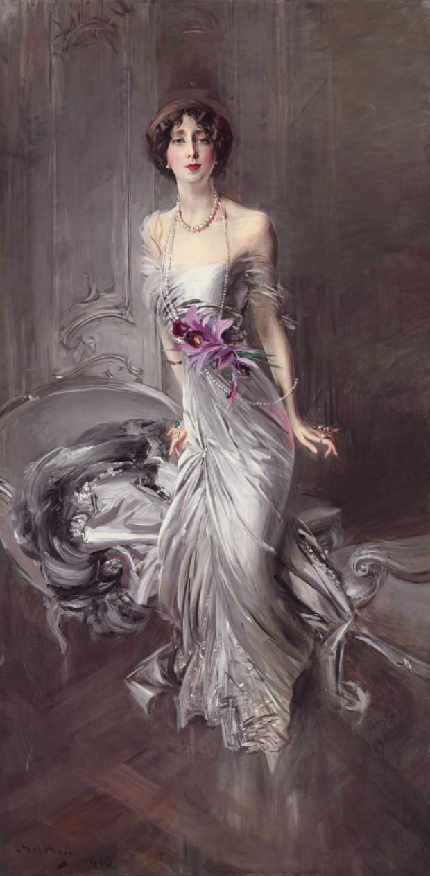 Madame Eugène Doyen by Giovanni Boldini