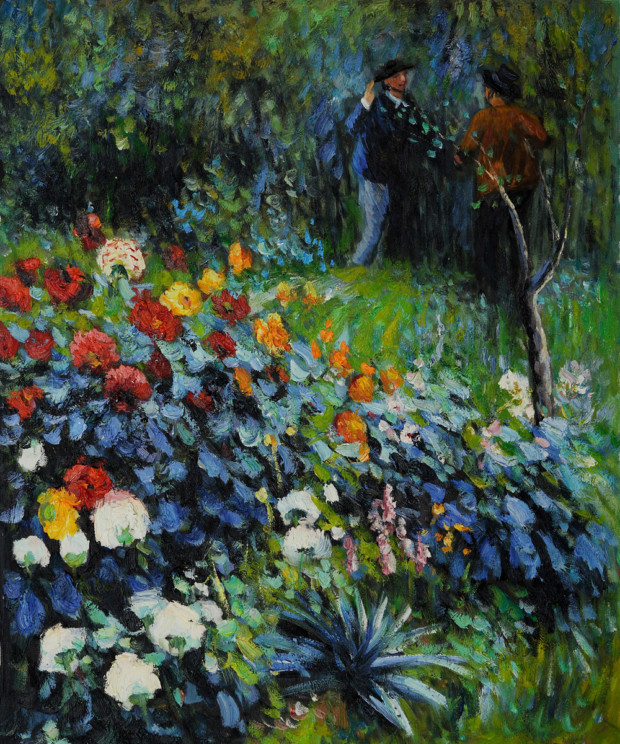 Garden in the Rue Cortot, Monmartre, Pierre Auguste Renoir, 1876, Carnegie Institute, Museum of Art, Pittsburgh, Montmartre - The Home to Many Inspirations
