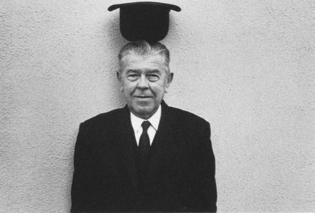 René Magritte, 1965, artsy halloween costume