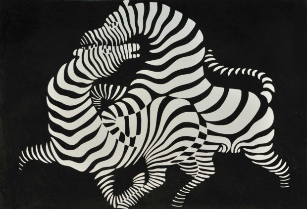 Victor Vasarely, Zebra, 1937, private collection