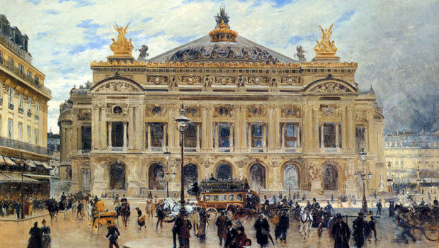 Grand Opera House, Paris by Frank Myers Boggs