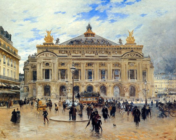 Grand Opera House, Paris by Frank Myers Boggs Parisian landmarks