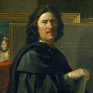 Poussin, Self-portrait