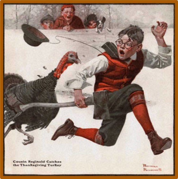 the art of thanksgiving by norman rockwell dailyartmagazine com