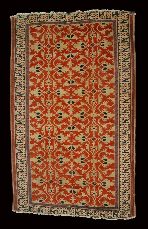 'Lotto' carpet. 16th century, Turkey, wool, The Metropolitan Museum of Art, New York, ottoman carpets paintings