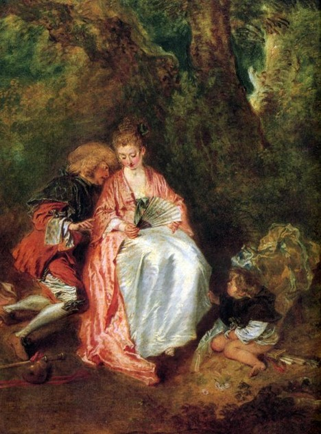 watteau and the mysteries of rococo dailyartmagazinecom