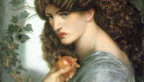 Dante Gabriel Rossetti, Proserpine, 1877