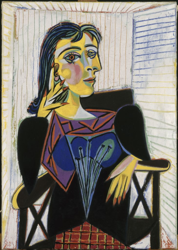 Pablo Picasso, Portrait of Dora Maar, 1937. Oil on canvas, 92 x 65 cm. Musée National Picasso, Paris Art in BoJack Horseman