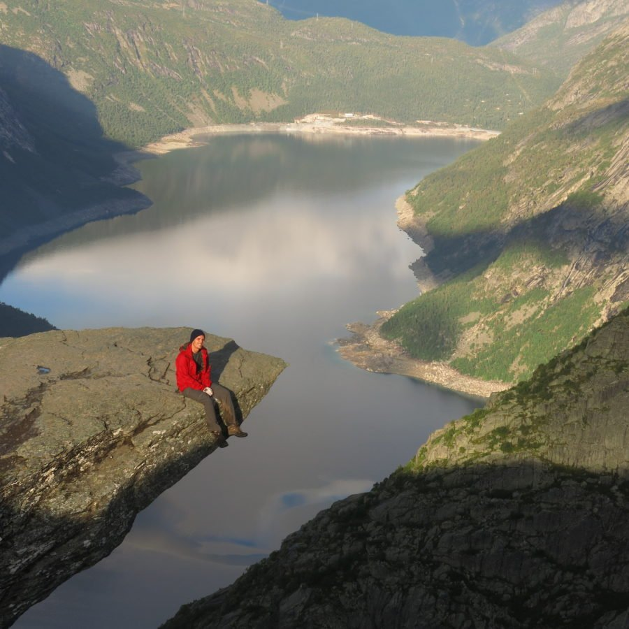 View from the Trolltunga, Hardanger Fjord, Norway. ©Mr.Bacchus, 2016 21st Century Grand Tour
