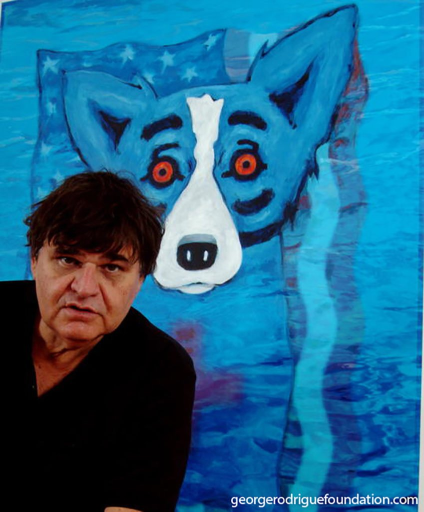 Blue Dog By George Rodrigue