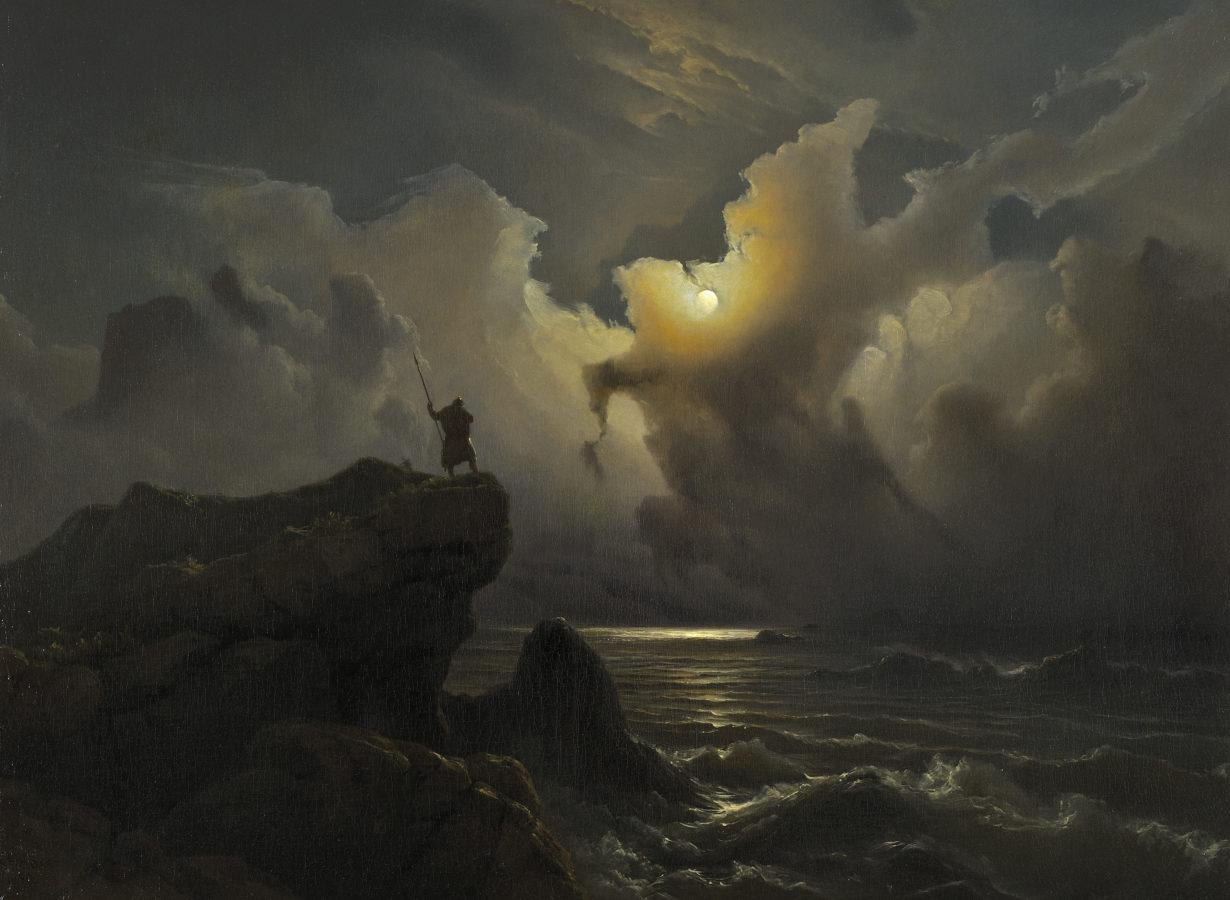 Knud Baade, Scene from the Era of Norwegian Sagas, 1850. ©Groeningemuseum, Bruges