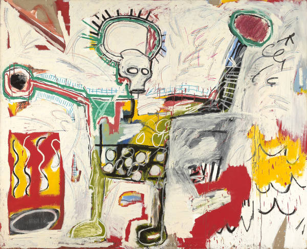Art in BoJack HorsemanJean-Michel Basquiat, Untitled, 1982, VG Bild-Kunst Bonn