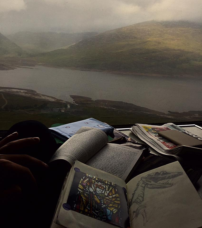View from The Jacobite Train. Fort William To Mallaig, Scotland. ©Mr.Bacchus 20