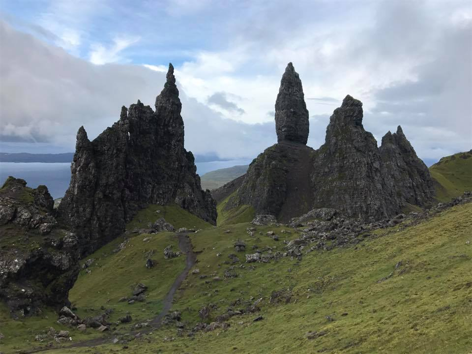 View from the old man of Storr, Isle of Sky, Scotland ©Mr.Bacchus, 2016
