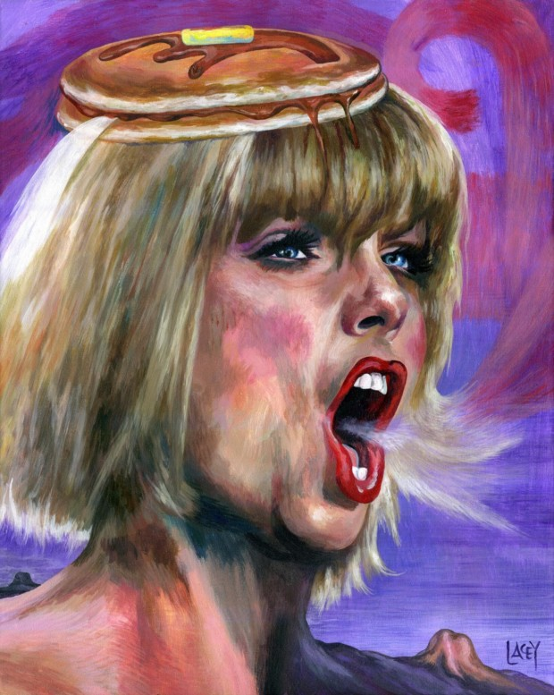Dan Lacey, Taylor Swift, 2016, celebrities and pancakes