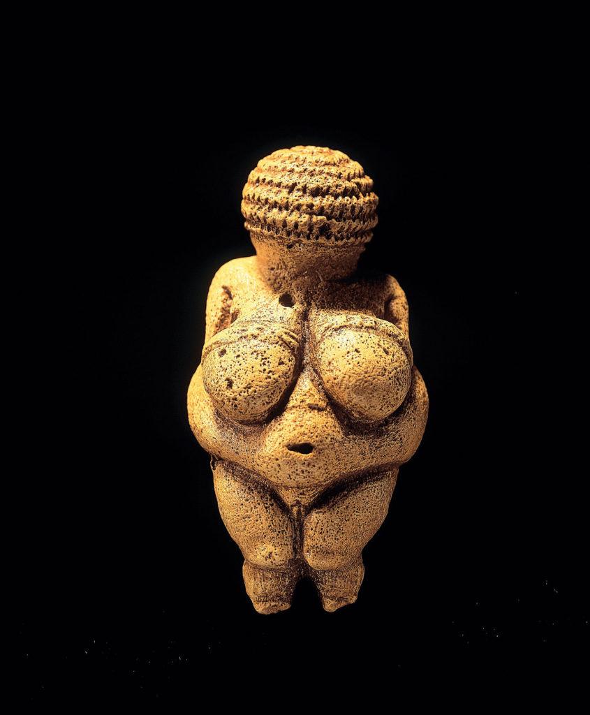 Venus of Willendorf, c. 28,000 BCE – 25,000 BCE, Naturhistorisches Museum, Vienna Art in BoJack Horseman