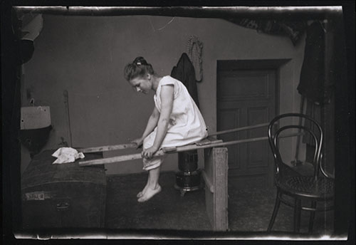 Wounded angel by Hugo Simberg