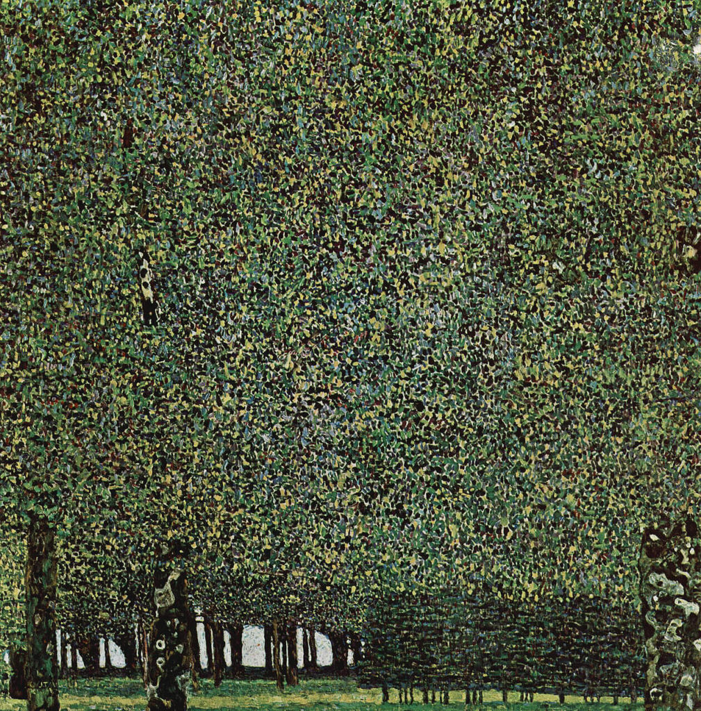Klimt's landscapes The Park
