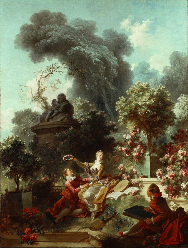 Jean-Honoré Fragonard Jean-Honoré Fragonard, Les progrès de l'amour dans le cœur d'une jeune fille, 1771-73, Frick Collection