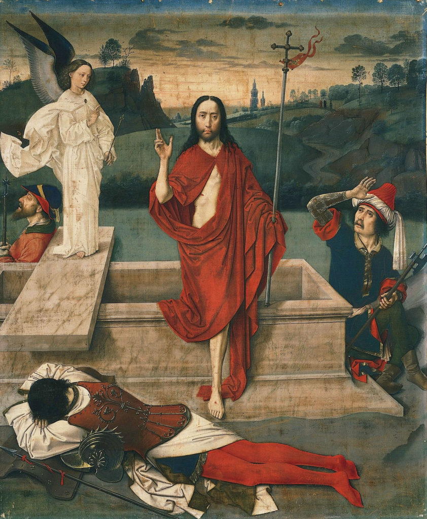 Dieric Bouts The Resurrection Dieric Bouts, The Resurrection, c. 1455, The Norton Simon Foundation