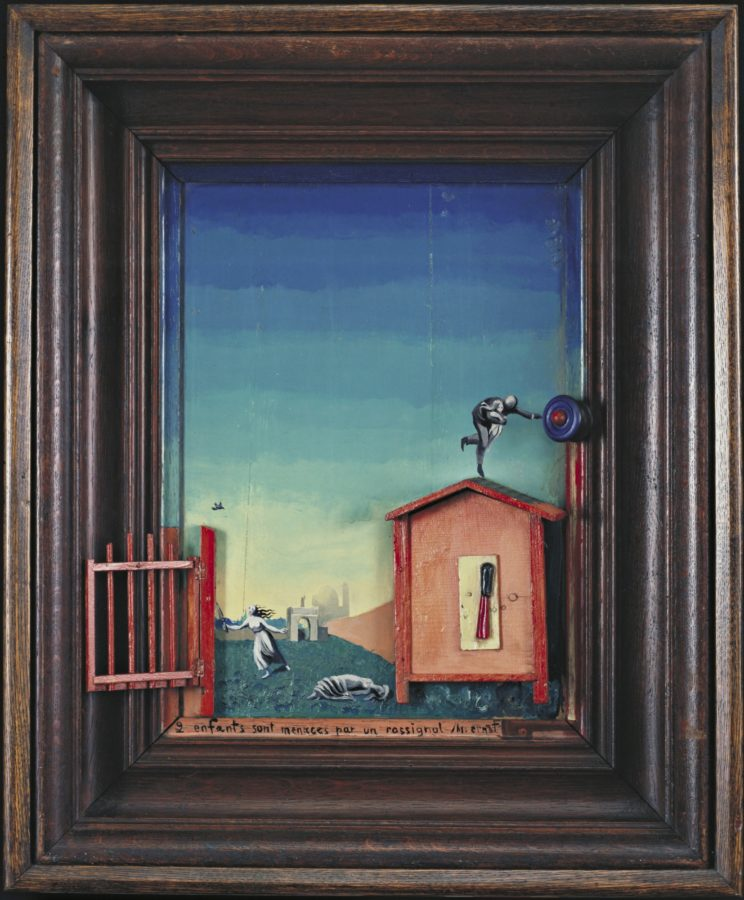 Max Ernst and birds