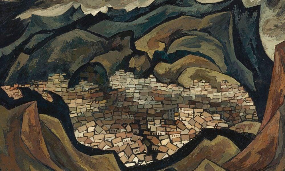 Quito verde (Green Quito), Oswaldo Guayasamín, 1948, Through the Eyes of Oswaldo Guayasamín