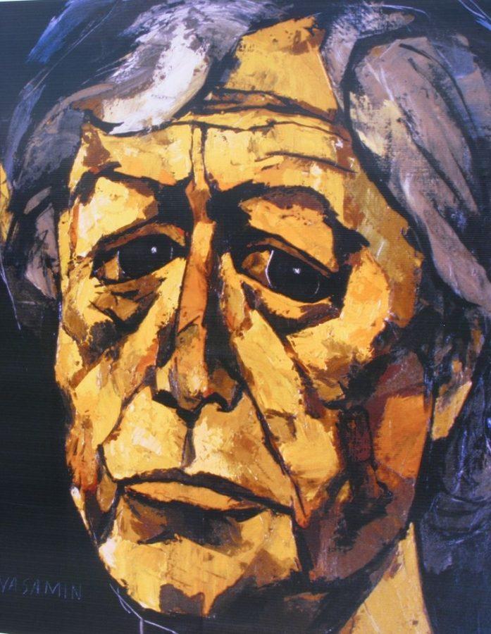 Autoretrato (Self-Portrait), Oswaldo Guayasamín, 1996, oswaldo guayasamín art