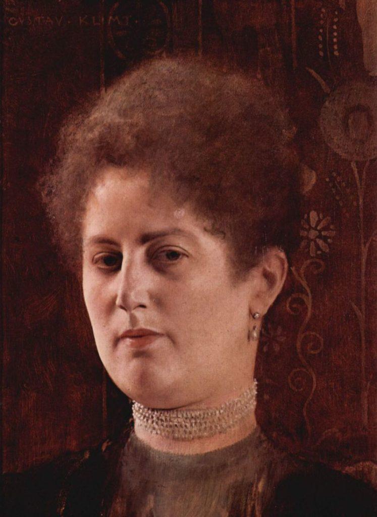 Gustav Klimt, Portrait of a woman (Frau Heymann?), c.1894, Vienna Historisches Museum