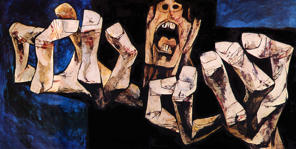 Manos de protesta (Hands of Protest), Oswaldo Guayasamín, 1968, oswaldo guayasamín art