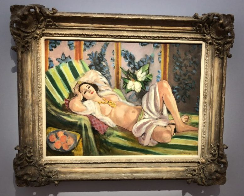 Henri Matisse, 'Odalisque couchée aux magnolias,' 1923 The Art Collection of Peggy and David Rockefeller