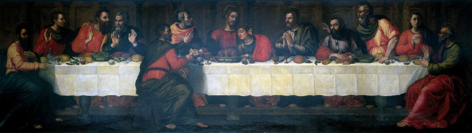 Restoration Of Last Supper You Had No Idea Existed