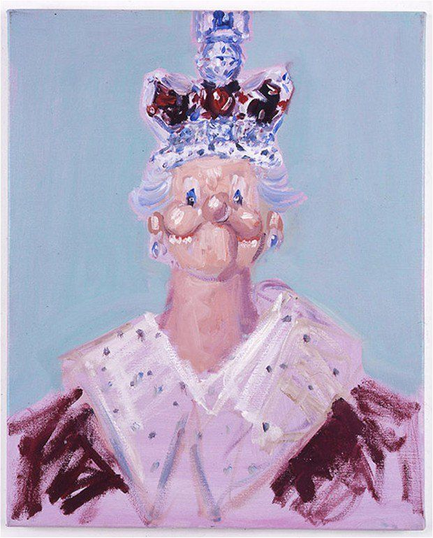 This George Condo portrait was displayed in Tate Modern in 2006. Source: Daily Telegraph