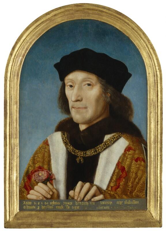 Henry VII, 1505, portrait British royal portrait