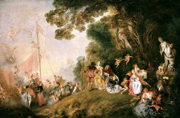 watteau s return from cythera Embarkation for cythera watteau-odjazd na cyterę, olej na płótnie, pałac charlottenburg, berlin this painting was the reception piece that watteau submitted to the french royal academy of painting and sculpture.