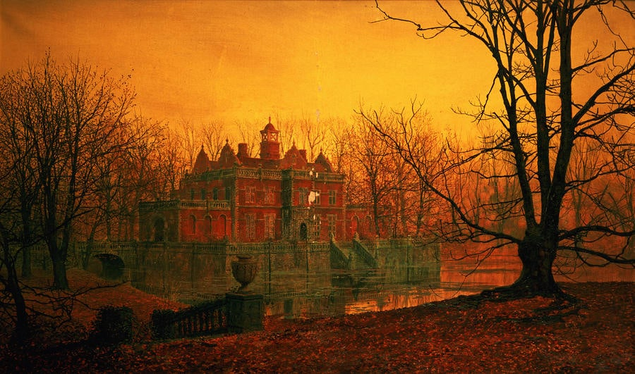 Five More Things Everyone Should Know About the Victorians The Haunted House Atkinson Grimshaw