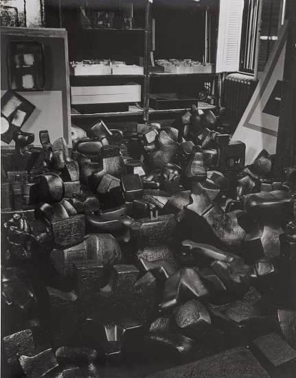 Estate of Pedro E. Guerrero, Found objects in Louise Nevelson's NY house, 1978 louise nevelson's sculptures