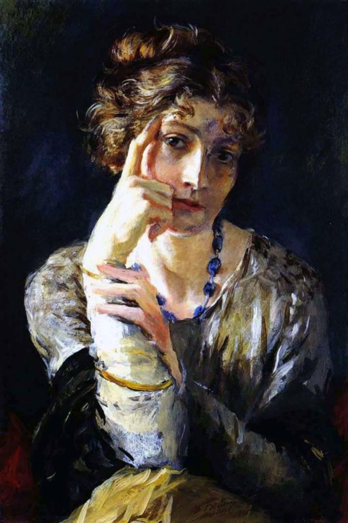 Mariano Fortuny y Madrazo, Portrait of Henriette, 1915, Museo Fortuny, Venice