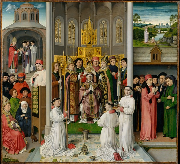 aster of Saint Augustine, Scenes From the Life of Saint Augustine de Hippo. The Cloisters, New York City Heavenly Bodies